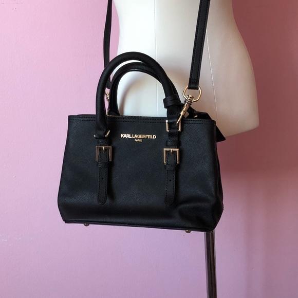 no sale tax hot sales classic Karl Lagerfeld Bags | Small Black Purse | Poshmark